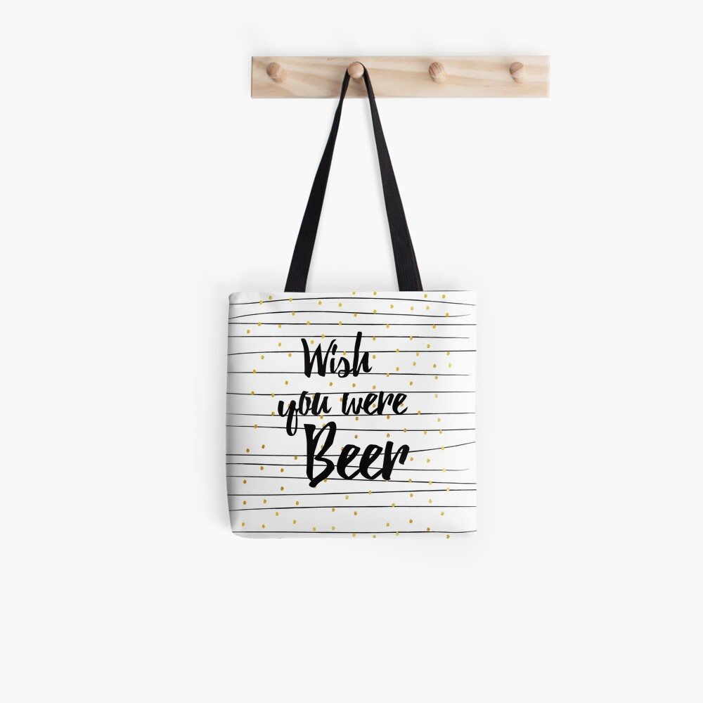 Wish you were Beer Tasche