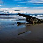 Ship Wreck on North Beach by Yukondick