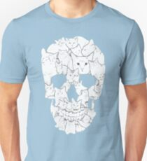 Sketchy Cat Skull - Cat Lovers Gift Shirt T-Shirt