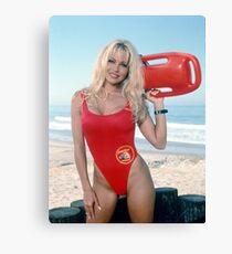 Pamela Anderson Baywatch Canvas Print