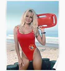 Pamela Anderson Baywatch Poster