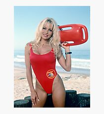 Pamela Anderson Baywatch Photographic Print