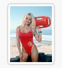 Pamela Anderson Baywatch Sticker