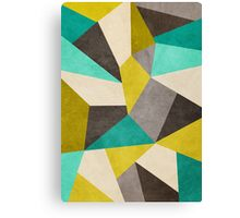Polygons Canvas Print