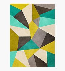 Polygons Photographic Print