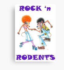 ROCK 'n RODENTS Canvas Print