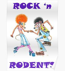 ROCK 'n RODENTS Poster