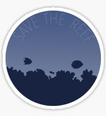 Save the reef Sticker