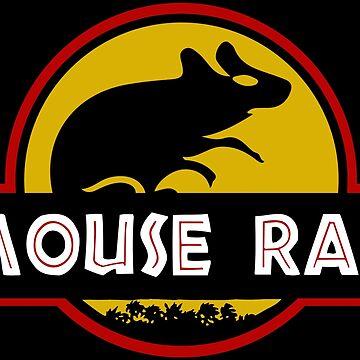 Jurassic Mouse Rat by OffRedEye
