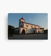 Timor Leste Church. Canvas Print