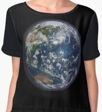 Planet Earth Women's Chiffon Top