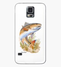 Redfish in grass Case/Skin for Samsung Galaxy