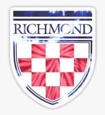 University of Richmond Tie Dye Design Sticker