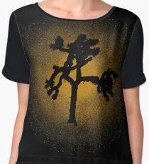 Joshua Tree Gold 30th Chiffon Top