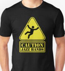CAUTION Jazz Hands T-Shirt