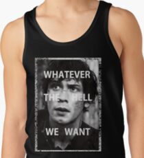 Bellamy Blake Whatever The Hell We Want (For Charity) Tank Top