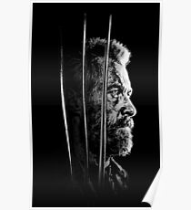 Logan Faded Bust Poster