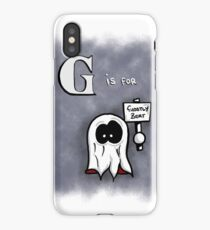 G is for Ghostly Bert iPhone Case/Skin
