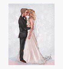 olicity wedding Photographic Print