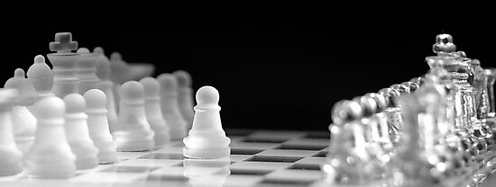 Chess 9: First move by Lenka