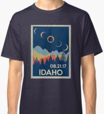 VINTAGE IDAHO SOLAR ECLIPSE 2017 SHIRT Classic T-Shirt