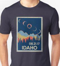 VINTAGE IDAHO SOLAR ECLIPSE 2017 SHIRT Unisex T-Shirt