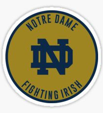 University of Notre Dame - Fighting Irish Sticker