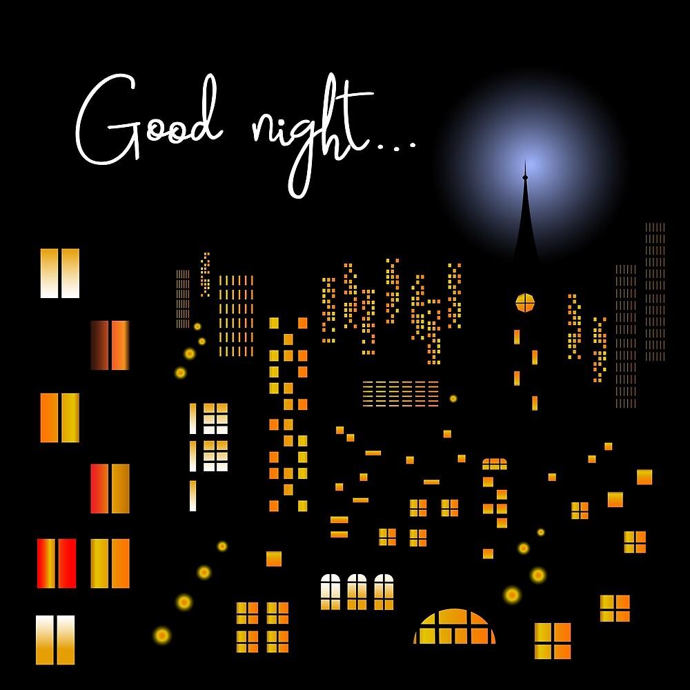 Good night by Mila-Che