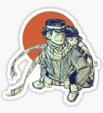 GK Sugimoto & Asirpa Sticker