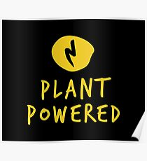 Plant Powered Energy Design - Cool Poster