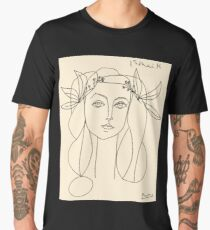HEAD 1946 : Vintage Abstract Print Men's Premium T-Shirt