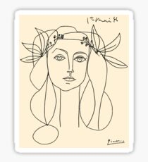 HEAD 1946: Vintage Abstract Print Sticker