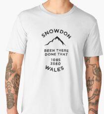 Snowdon-Wales-Walking Climbing Men's Premium T-Shirt