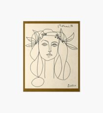 HEAD 1946 : Vintage Abstract Print Art Board