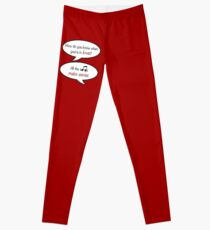 how do you know when you're in love? Leggings