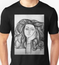 FRANCOISE 1946 : Vintage Abstract Painting Print T-Shirt