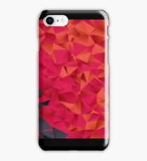Low Resolution Poly-Designed Flame iPhone Case/Skin