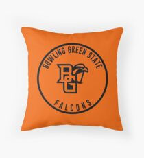 Bowling Green State University - Falcons Throw Pillow