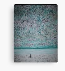 Get Lost in the Clouds Canvas Print