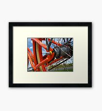 Felt Cruiser Framed Print