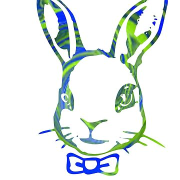 Colorful Paint Bunny T-Shirt by ShyneR