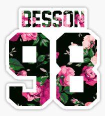 Corbyn Besson - Colorful Flowers Sticker