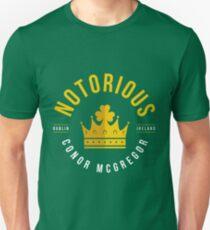 The Notorious Conor Mcgregor Dublin Ireland T-Shirt