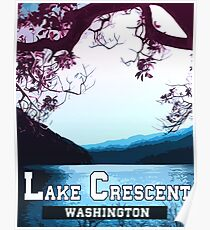 Lake Crescent - Landscapes of America Poster