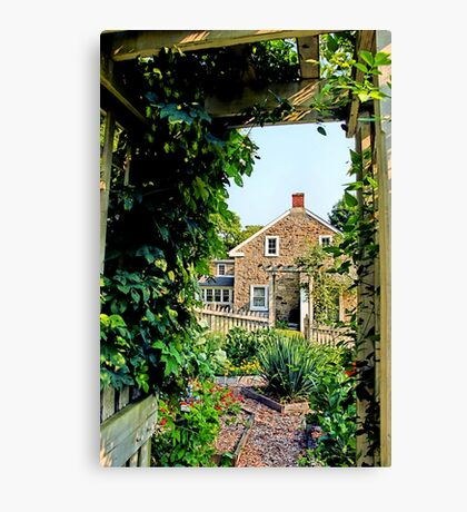 Heller Homestead Garden Canvas Print