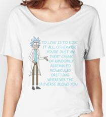 Rick and Morty – To Live is to Risk It All Women's Relaxed Fit T-Shirt