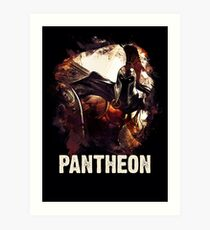 League of Legends PANTHEON Art Print