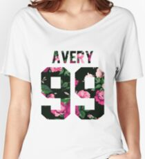 Jack Avery - Colorful Flowers Women's Relaxed Fit T-Shirt