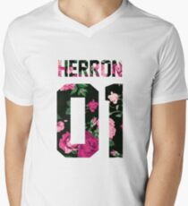 Zach Herron - Colorful Flowers T-Shirt