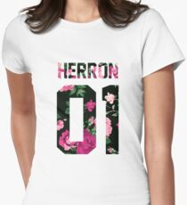 Zach Herron - Colorful Flowers Women's Fitted T-Shirt